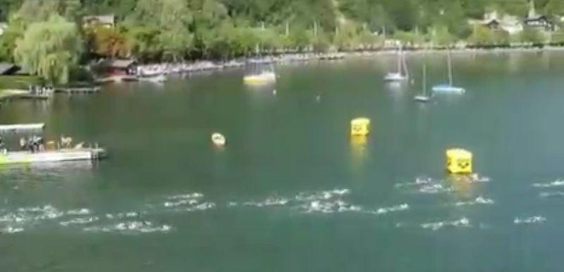 LIVE – Ironman 70.3 Zell am See-Kaprun: out of swim!
