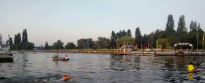 Salta il nuoto dell'Ironman Vichy?