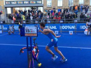 L'under 23 Delian Stateff è 10° all'ITU World Triathlon Grand Final Rotterdam 2017 (Foto ©F.I.Tri.)