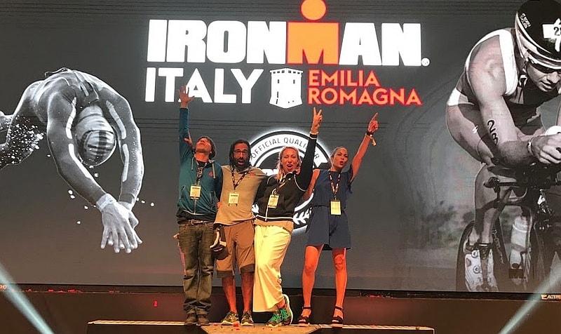 Gli speaker e i DJ del 1° storico Ironman Italy Emilia Romagna!