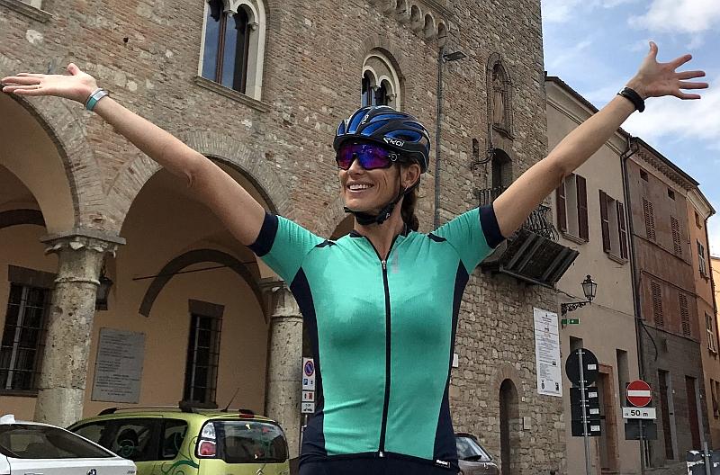 "Jenny Fletcher a Cervia per ""Una settimana da Ironman!"""