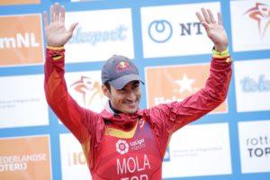 Il terzo posto nell'ITU World Triathlon Grand Final Rotterdam è sufficiente a Mario Mola per conquistare il titolo mondiale (Foto ©ITU Media / Wagner Araujo
