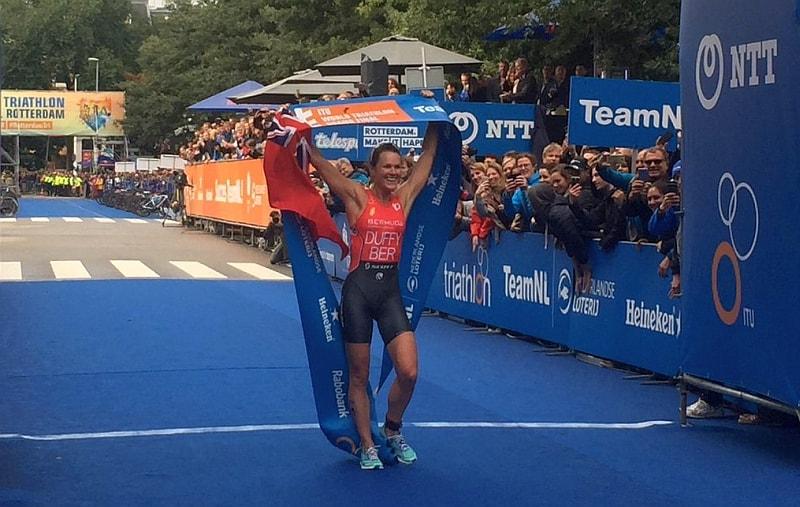 Flora Duffy si conferma campionessa del mondo!