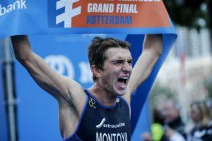 Raphael Montoya è oro tra gli Under 23 all'ITU World Triathlon Grand Final Rotterdam 2017 (Foto ©ITU Media / Wagner Araujo)