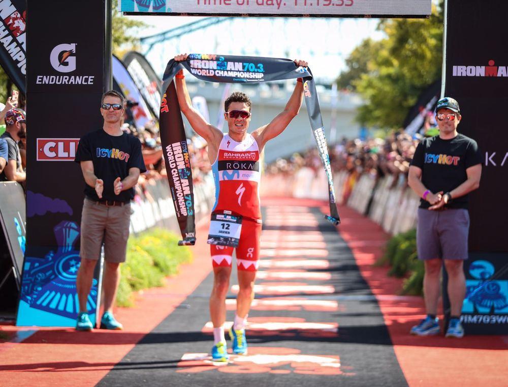 Javier Gomez vince l'Ironman 70.3 World Championship 2017