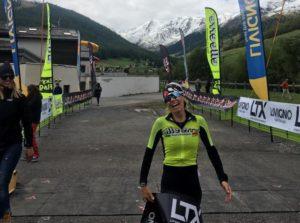 Cristina Sonzogni, dopo aver dominato lo scorso anno ICON Xtreme, si aggiudica il 1 Stelvio Triathlon Livigno