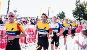 Alessandro Fabian è stato tra i protagonisti della Super League Triathlon Jersey Island, corsa il 23 e 24 settembre 2017 (Foto ©Googsi Creative / The Studio M)