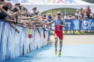 Mario Mola è l'uomo da battere nell'ITU World Triathlon Series Grand Final 2017 a Rotterdam (Foto ©ITU Media / Wagner Araujo)