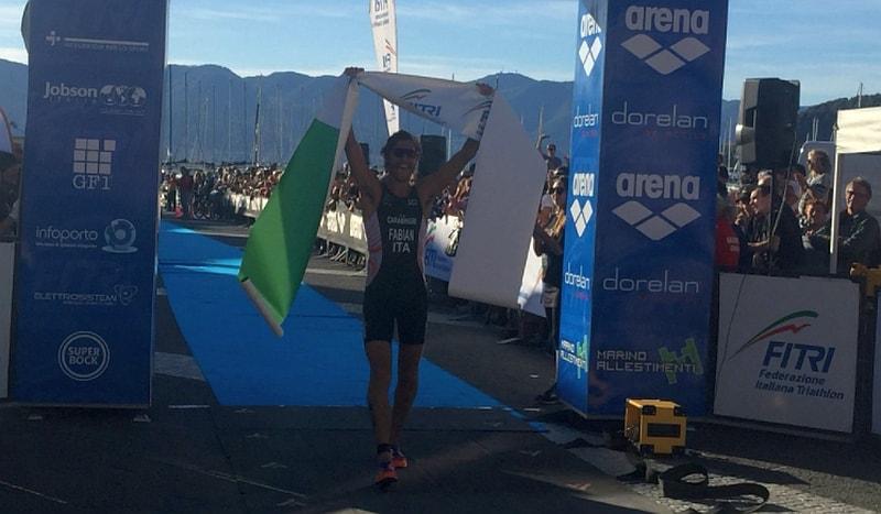 LIVE – Alessandro Fabian è Tricolore di triathlon olimpico 2017