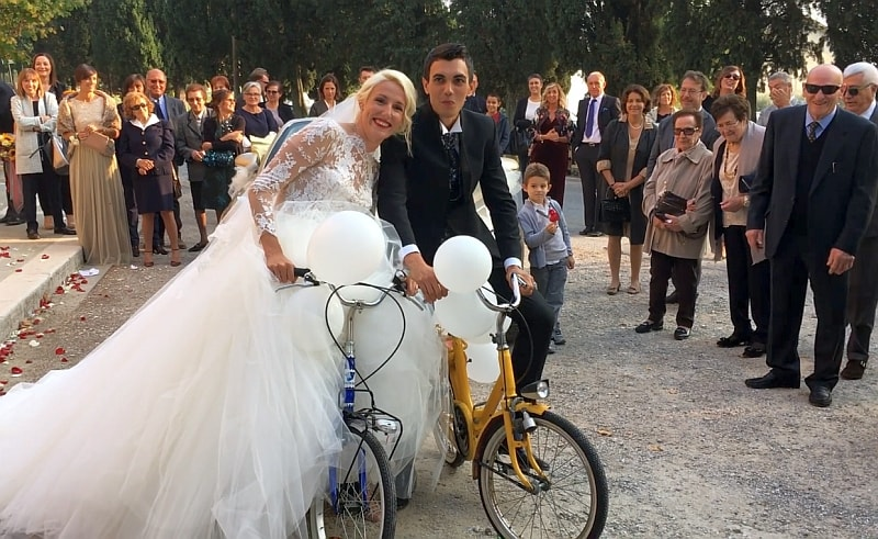 Gaia e Luca… Evviva gli sposi!
