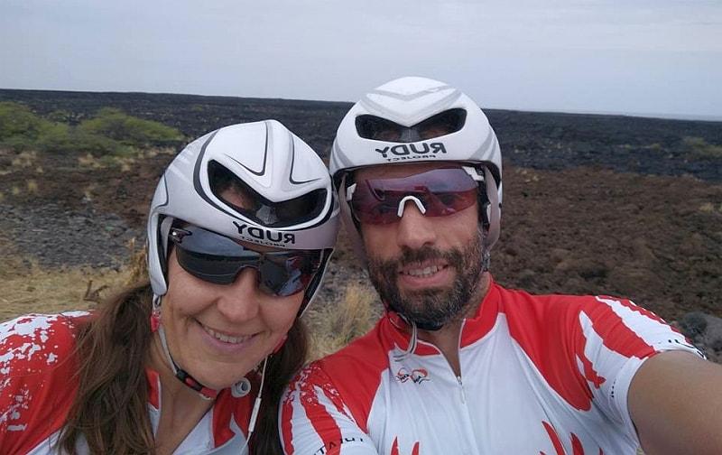La coppia azzurra dell'Ironman Hawaii 2017: Elisabetta Villa e suo marito Alessandro Valenti sono entrambi all'esordio iridato