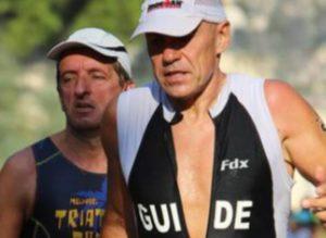 Alberto Ceriani e Stefano Sambati, nonostante alcuni problemi nei giorni precedenti la gara, si sono schierati al via dell'Ironman Italy Emilia Romagna 2017