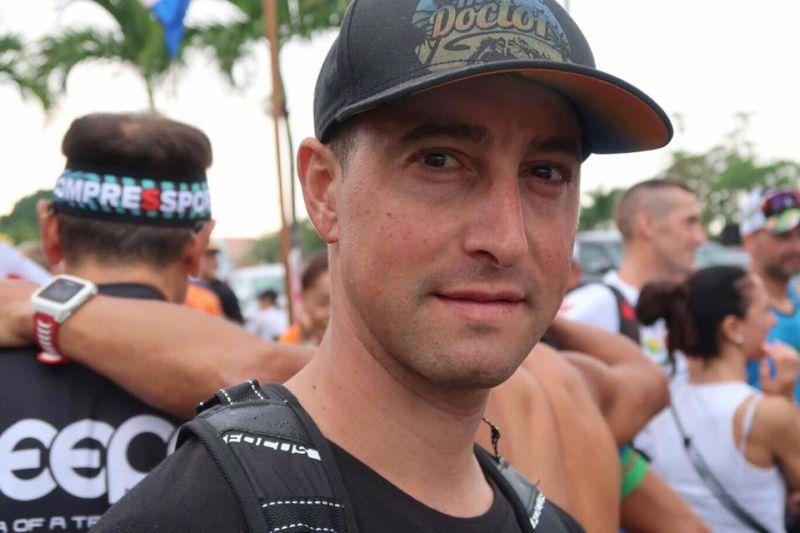 Andrea Masciarelli è al suo primo Ironman Hawaii (14 ottobre 2017)