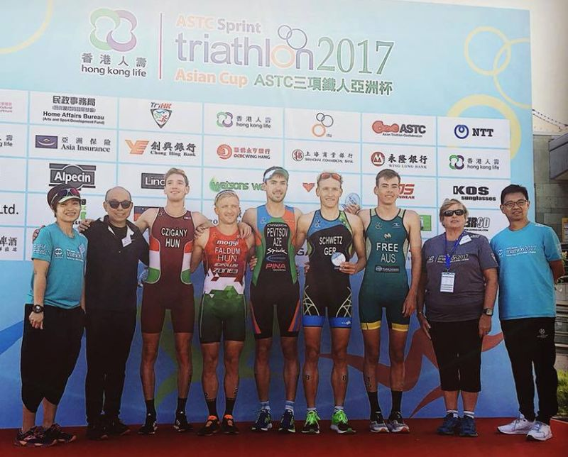 2017-10-21 Hong Kong ASTC Sprint Triathlon Asian Cup