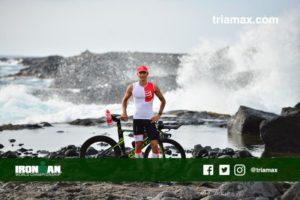 Anche per Daniel Fontana il problema principale del percorso ciclistico dell'Ironman Hawaii è il vento (Foto ©triamax.com)