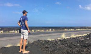 David Colgan sulle strade dell'Ironman Hawaii