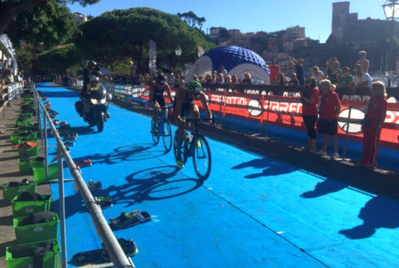LIVE – Tricolori Elite triathlon olimpico, uomini: dopo 20K di ciclismo