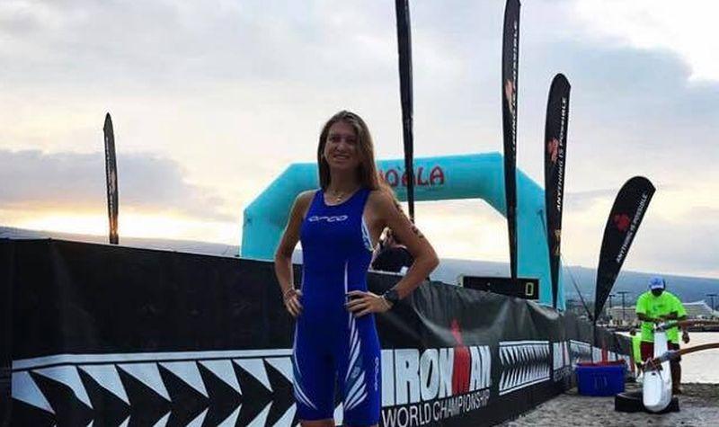 Federica De Nicola, la studentessa in medicina con la passione per il triathlon, una dei 35 italiani al via dell'Ironman Hawaii 2017