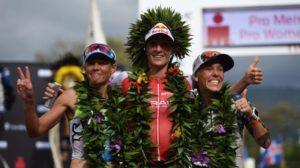 La svizzera Daniela Ryf fa suo l'Ironman Hawaii 2016, precedendo l'australiana Mirinda Carfrae e l'americana Heather Jackson (Foto ©Donald Miralle)