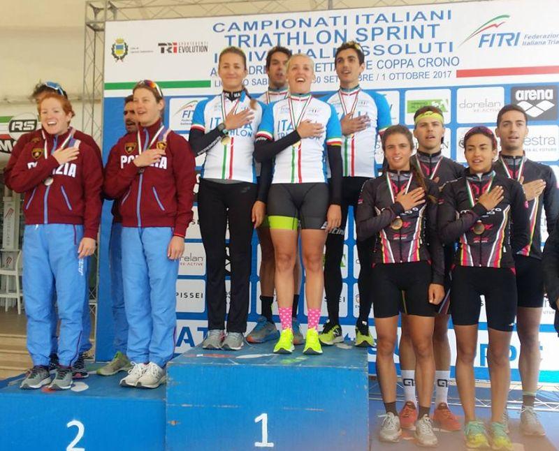 2017-10-01 Campionati Italiani Triathlon Staffetta 2+2