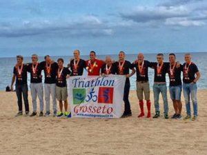 Il Triathlon Grosseto e quella... fantastica dozzina: 12 atleti al via e al traguardo dell'Ironman Barcelona 2017