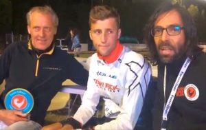 Papa Rodolphe e Rudy Von Berg insieme a Dario 'daddo' Nardone al termine del Challenge Forte Village Sardinia 2017
