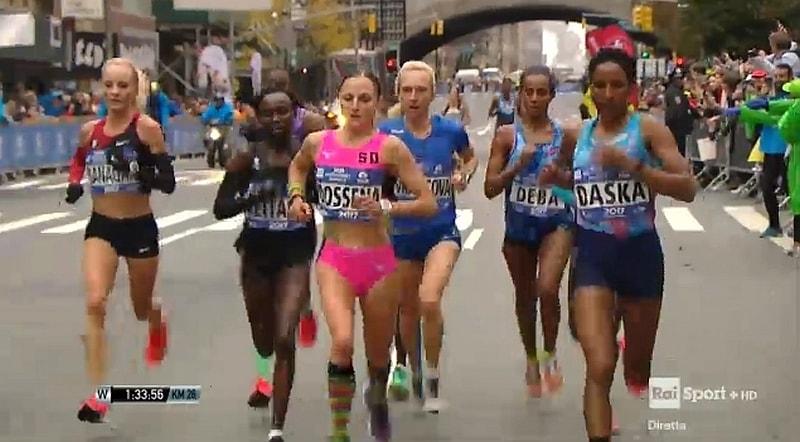 Sara Dossena protagonista alla NYC Marathon 2017