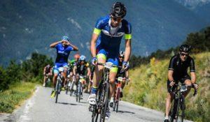 La Mont Blanc Granfondo 2018 si disputerà il 24 giugno: 115-130K di percorso e 2.700-3.000M di dislivello (Foto ©Sportograf, edizione 2017)