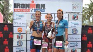 La tedesca Diana Riesler vince l'Ironman Malaysia 2017, davanti alla connazionale Mareen Hufe e alla francese Manon Genet