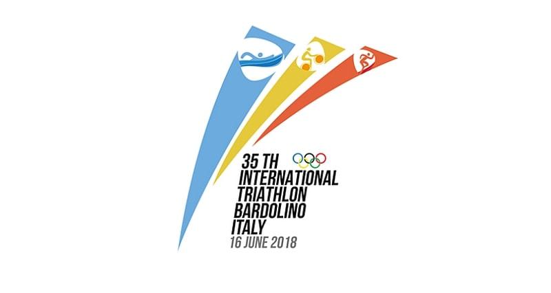 Il logo del 35° Triathlon Internazionale di Bardolino