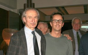 Angelo Galli con Gabriele Olimpi