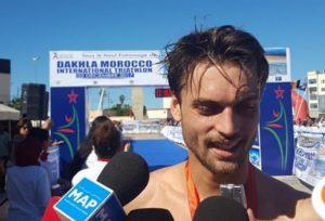 Gregor Payet è il più veloce alla Dakhla ATU Sprint Triathlon African Cup 2017