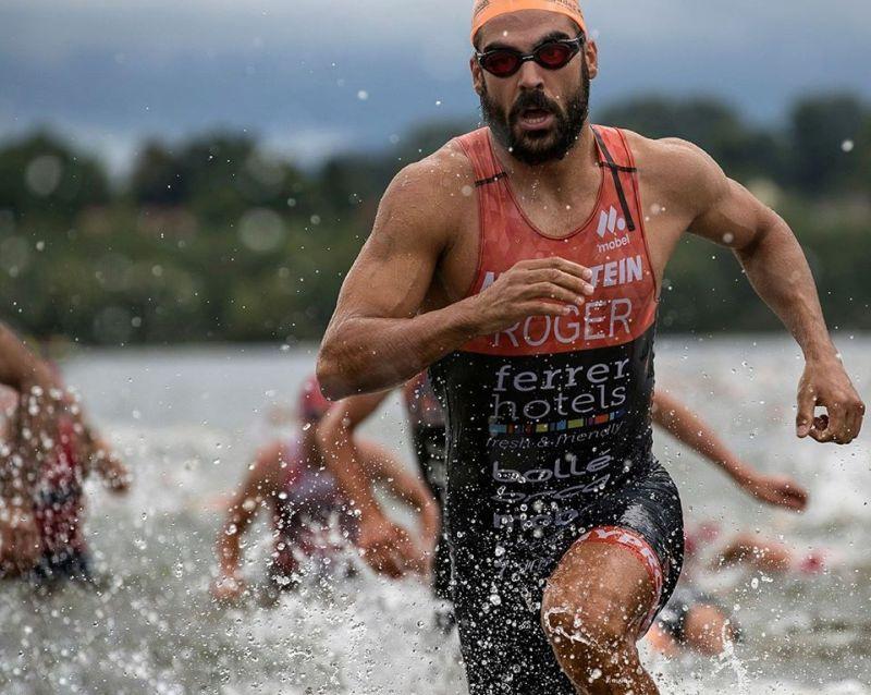 Il campione XTERRA Roger Serrano al Gala del Triathlon 2018