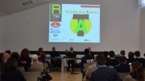 """La presentazione di """"Area Talento"""" è stata anche l'occasione per brindare ai dieci anni di attività del Raschiani Triathlon Pavese"""