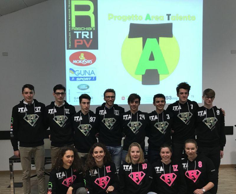 13 talenti per il Raschiani Triathlon Pavese