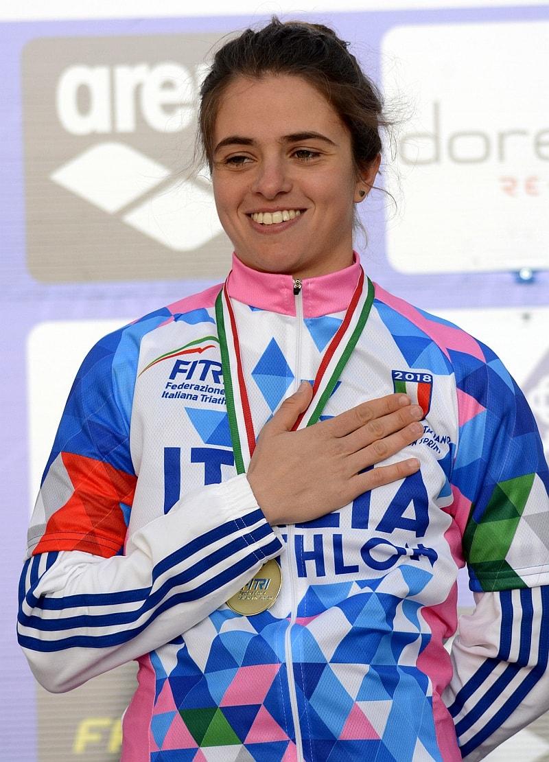Beatrice Mallozzi è la campionessa italiana 2018 di duathlon sprint (Foto: Massimiliano Pizzolato)
