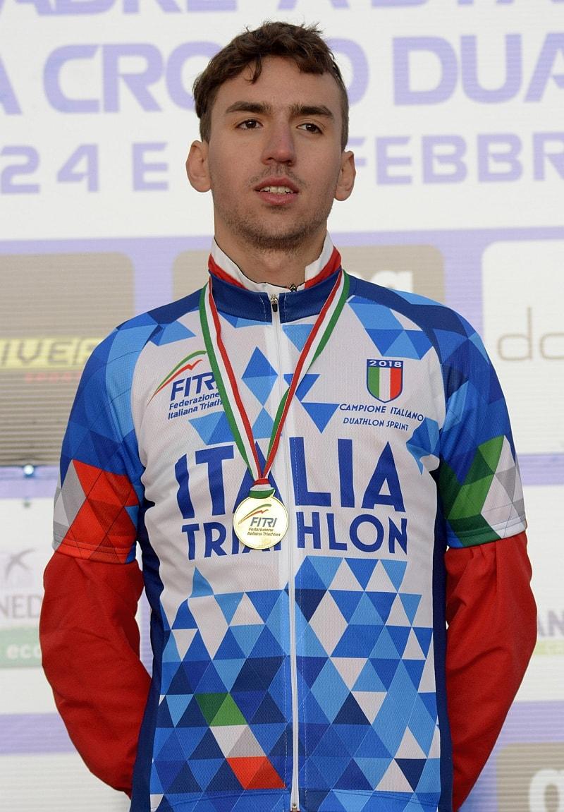Diego Boraschi è il campione italiano 2018 di duathlon sprint (Foto: Massimiliano Pizzolato)