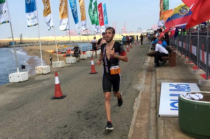 Davide Rossetti 2° all'Ironman 70.3 Colombo!