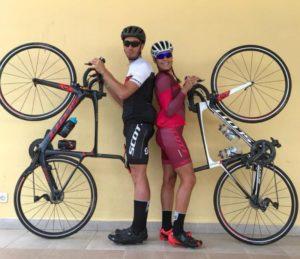 Angelica Olmo è pronta per affrontare le gare di triathlon 2018 con la sua bicicletta Scott