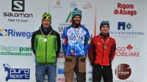 Giuseppe Lamastra (Trisports.it Team), domenica 4 febbraio 2018, si riconferma campione italiano di winter triathlon, davanti a Daniel Antonioli (C.S. Esercito) e al compagno di squadra Alessandro Saravalle