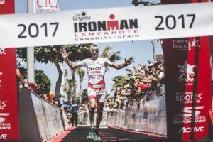 Alessandro Degasperi è secondo all'Ironman Lanzarote 2017 (Foto ©Diego Santamaria)