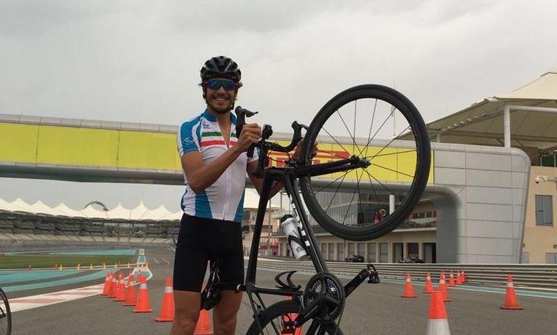 Alessandro Fabian in ritiro per perfezionare la preparazione in vista della WTS a Bermuda