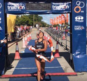 Romina si laurea campionessa sudamericana di triathlon a Montevideo domenica 11 marzo 2018