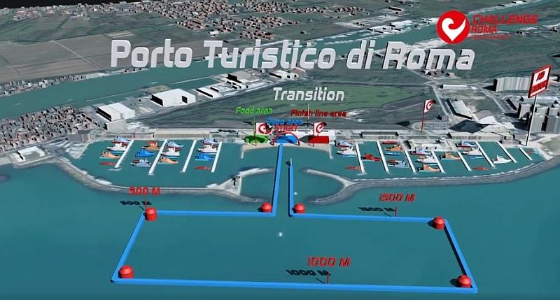 Scopri in 3D i percorsi del Challenge Roma!