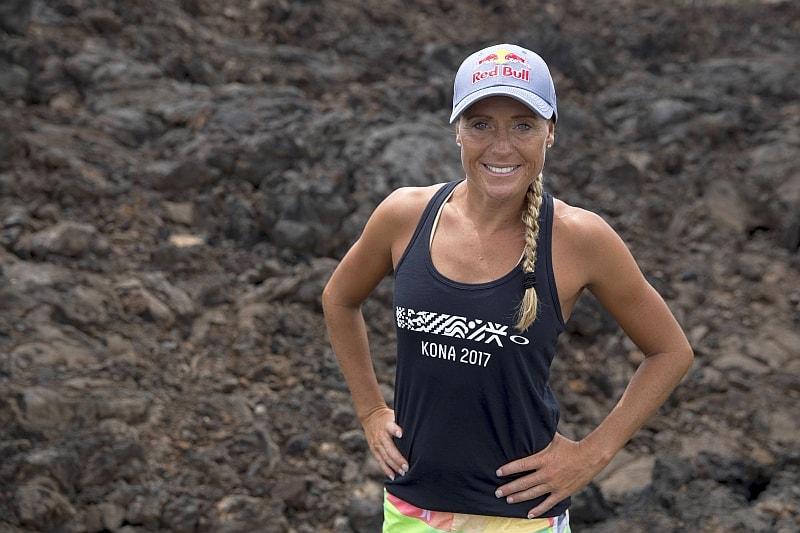 La campionessa danese Camilla Pedersen