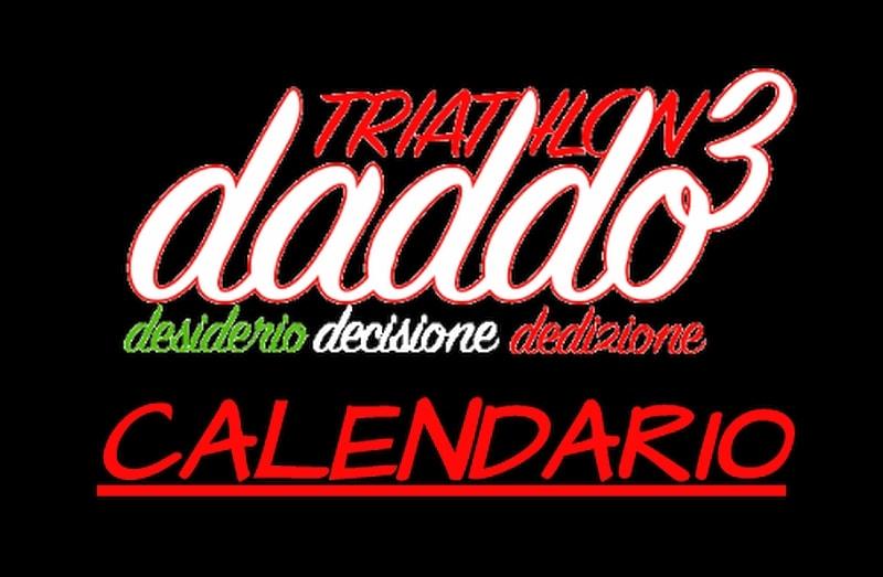 DADDO3 calendario triathlon 5 e 6 maggio 2018