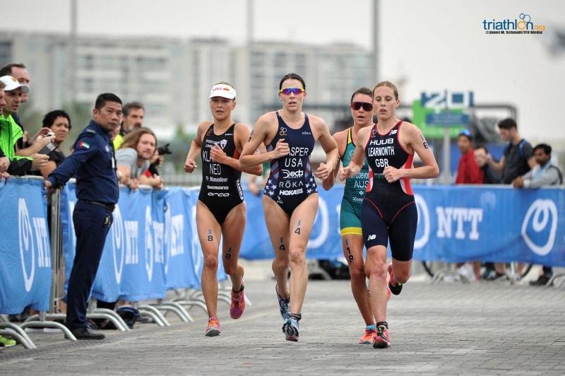 Rachel Klamer regina nell'ITU World Triathlon Abu Dhabi