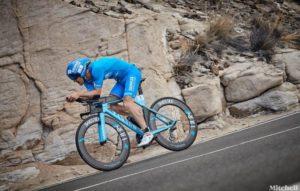 """Il favoritissimo Patrick Lange, campione del mondo Ironman 2017, è giunto """"solo"""" terzo al Challenge Mogan - Gran Canaria 2018 (Foto ©James Mitchell)"""