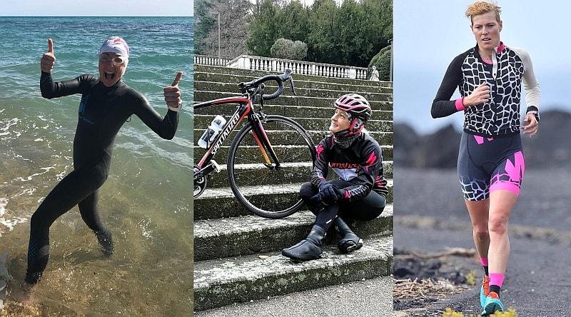 La super staffetta del Challenge Roma: Alessandra Sensini, Martina Dogana e Michela Santini