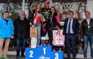 Valentina D'Angeli (CUS Trento CTT) si è aggiudicata la prima edizione del Duathlon Sprint Imola domenica 15 aprile 2018. Ha preceduto al traguardo Evgeniya Kovaleva (CUS Parma) ed Elena Meldoli (Cesena Triathlon)